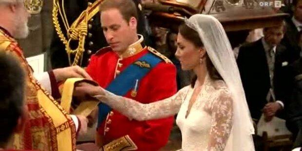 Die schönsten Momente der Hochzeit
