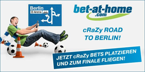 Anzeige Bet at Home