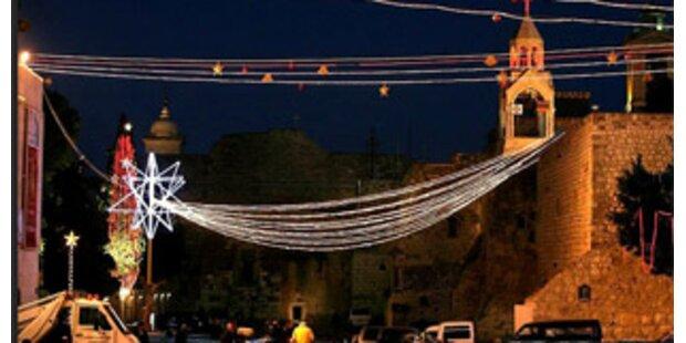 Hotels in Bethlehem erstmals wieder ausgebucht