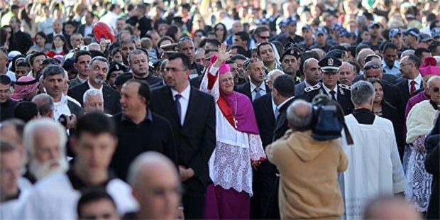 Mehr als 100.000 Pilger in Bethlehem