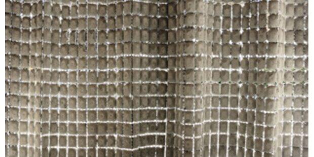 Design-Preis für Betonvorhang