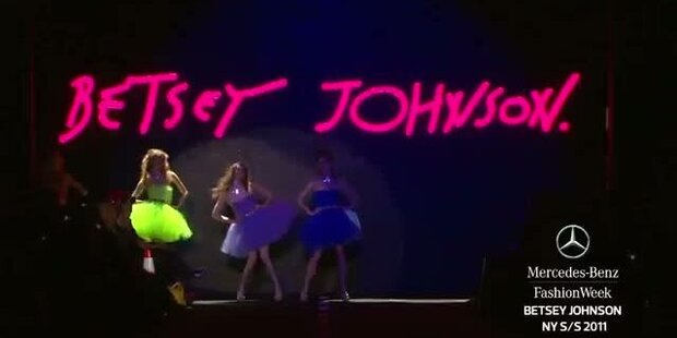 New York Fashion Week S/S 2011: Betsey Johnson