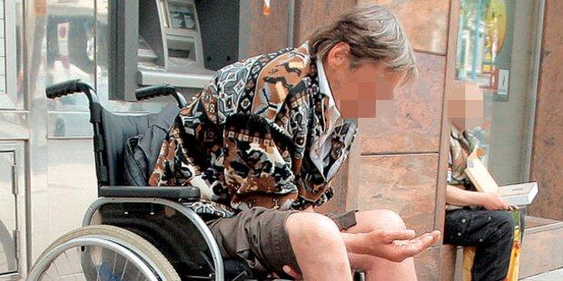 Zum Betteln gezwungen: Strenge Strafen