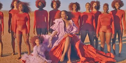 'König der Löwen'-Video: Beyoncé zeigt ihre Tochter