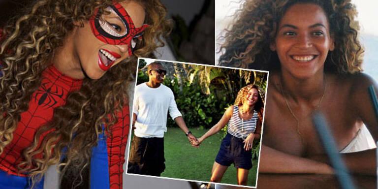 Pop-Diva Beyoncé hat jetzt einen eigenen Tumblr und öffnet bei dieser Gelegenheit auch gleich ihr ganz privates Foto-Album. Zu sehen bekommen wir intime Schnappschüsse, Urlaubsfotos, Beyoncé ungeschminkt. Kurz: Alles, was das Fan-Herz höher schlagen lässt....