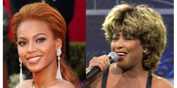 Beyonce Knowles und Tina Turner planen Duett