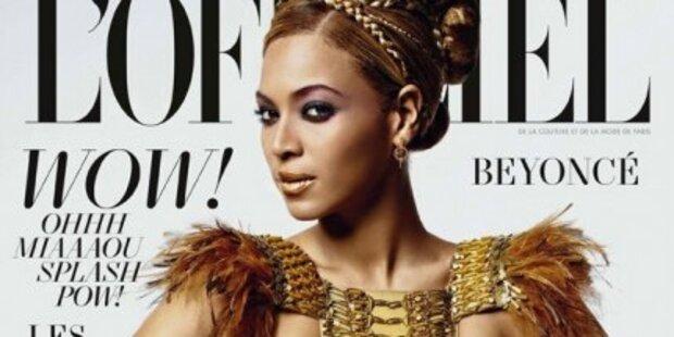 Beyoncé für L´Officiel als African Queen