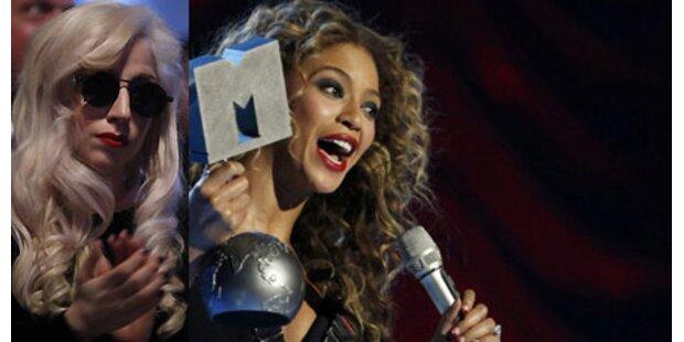 MTV EMAs -Beyoncé besser als Lady Gaga