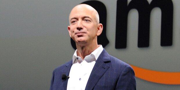 Amazon-Boss hängt alle Superreichen ab