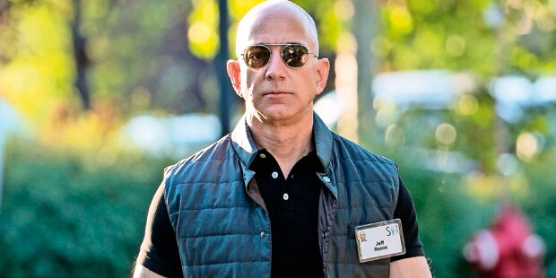 Jeff Bezos: vom Internet-Nerd zum Amazon-Macho