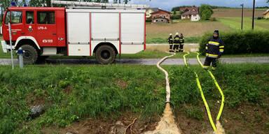Unwetter: Schwere Schäden in der Steiermark
