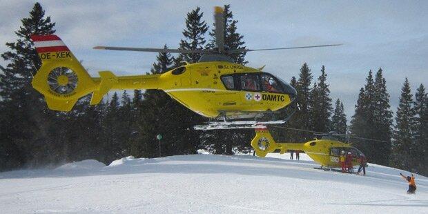 Vier Verletzte bei Ski-Crash in Obertauern