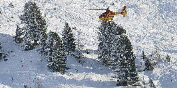 Skifahrer blieb im Tiefschnee stecken - gerettet