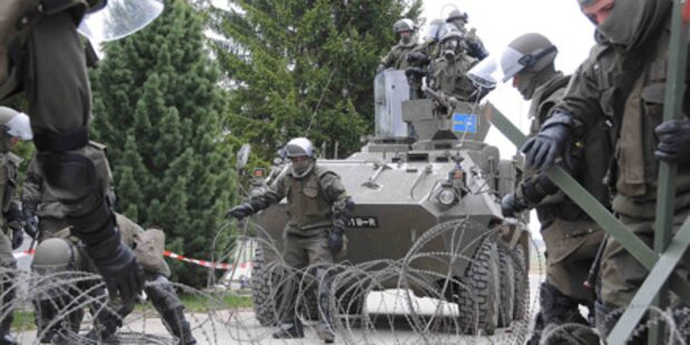 6.700 Soldaten üben jetzt Terror-Alarm