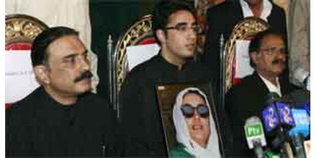 Bhuttos Sohn Bilawal neuer PPP-Chef