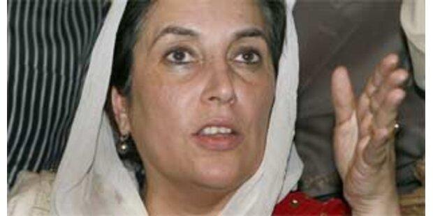 Bhutto bricht Dialog mit Musharraf ab