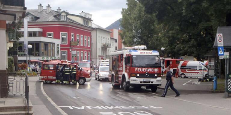 Massen-Evakuierung nach Gasaustritt