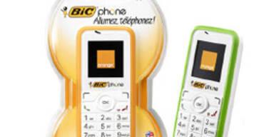 Bic bringt erstes Wegwerf-Handy auf den Markt