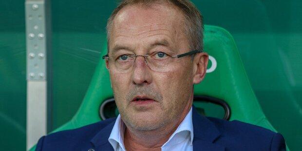 Rapid-Sportchef Bickel: Kühbauer hat nicht viel gebracht