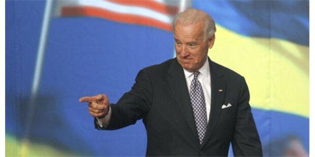 Biden attackiert Russland scharf