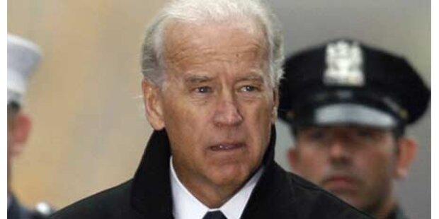 Joe Biden in Verkehrsunfall verwickelt