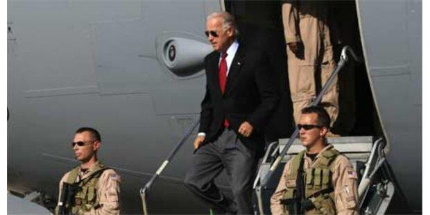 Attacke in Bagdad während Biden-Besuch
