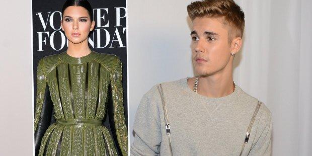 Bieber baggert Kendall Jenner an