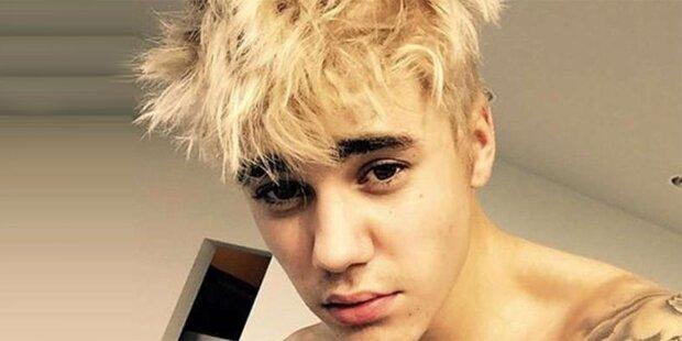 Justin Bieber ist jetzt blond