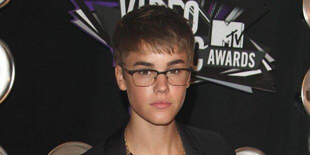 Bieber in Verkehrsunfall verwickelt