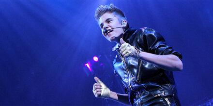 Bieber kifft – und tut Buße