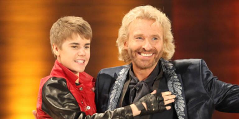"Bieber-Mania bei ""Wetten, dass..?"""