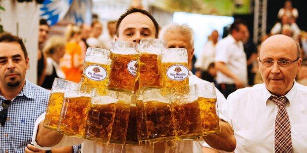 Bayer stellt Rekord im Biertragen auf