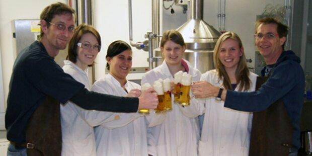 FH Wels braut stärkstes Bier Österreichs