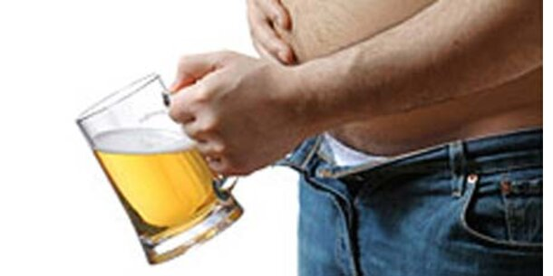 Den Bierbauch gibts gar nicht