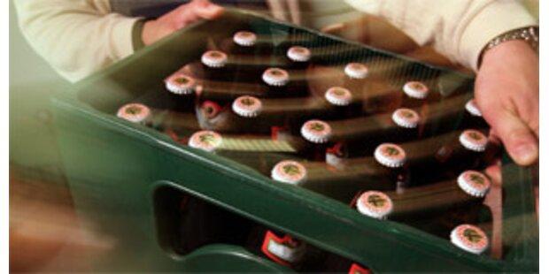 Australier schnallte Bierkarton statt Kind an