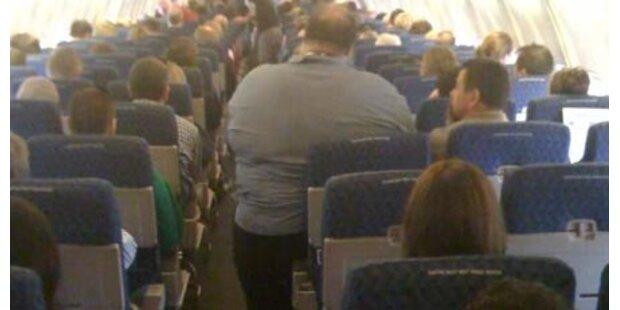 US-Debatte über dicken Flug-Passagier