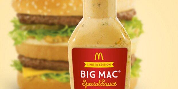 McDonald's verkauft geheime BigMac-Soße