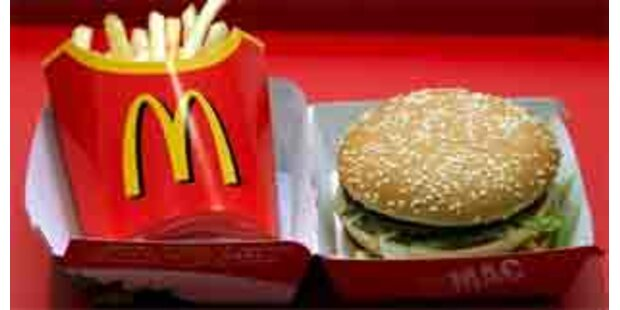 Regenwurm in Big Mac entdeckt