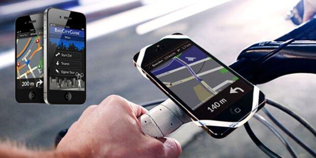 Neue Funktionen für BikeCityGuide-App