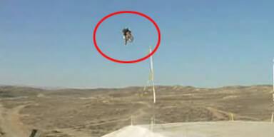 Amerikaner springt 120 m