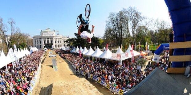 Großes Bike-Festival am Rathausplatz