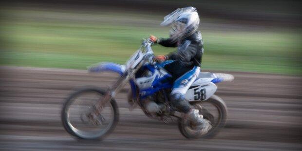 13-jähriger Biker mit 136km/h gestoppt