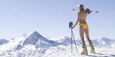 Winter Schnee Bikini