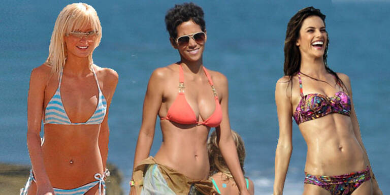 Bikinis: Die Beauty-Hitliste