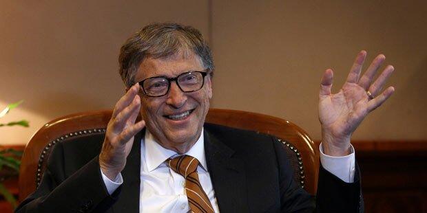 Bill Gates bleibt reichster Mann der Welt