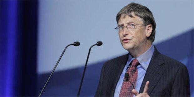 Gates: Wir könnten Aids beenden