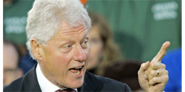 Bill Clinton verdiente 2008 mit Reden 5,7 Mio. Dollar