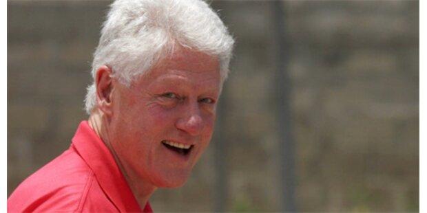 Bill Clinton kommt zum Life Ball