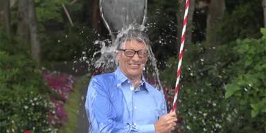 Bill Gates machte Ice Bucket-Challenge