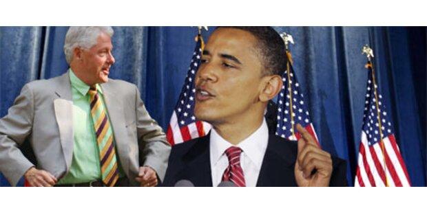 Obama und Bill Clinton versöhnen sich am Telefon